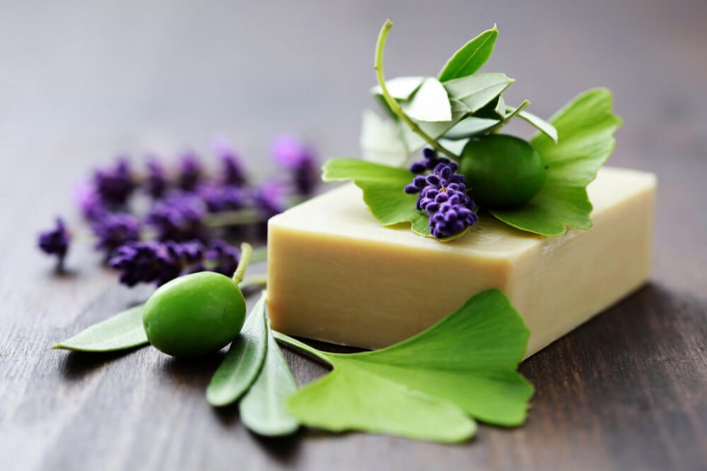 what are herbal soap